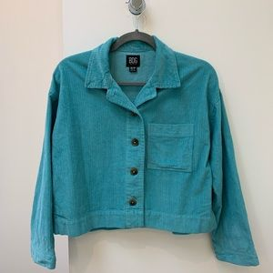 Urban Outfitters Cropped Corduroy Blazer